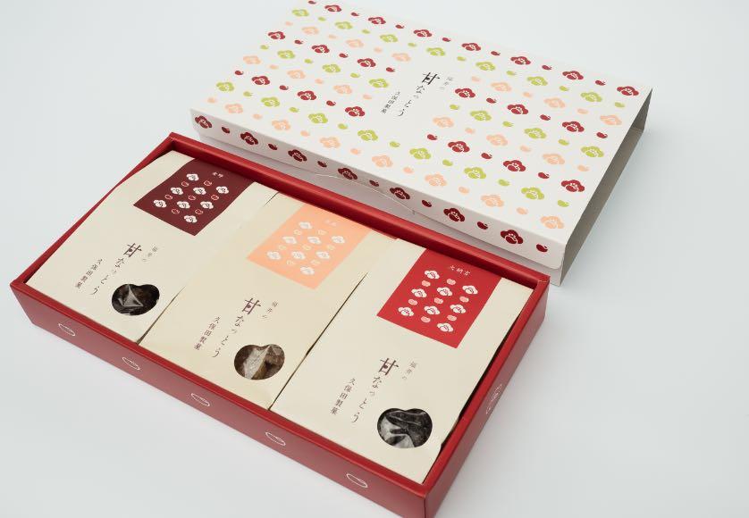 甘納豆のギフトボックスイメージ